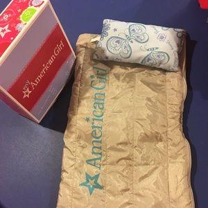 American Girl cozy sleepover bag!